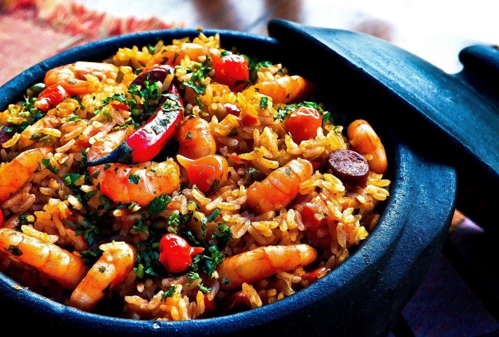 Reispfanne aus der Küchenmaschine